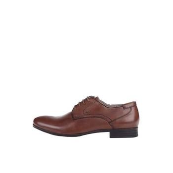 Pantofi barbatesti S.Oliver maro, din piele