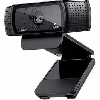 Camera Web Logitech C920 Full HD Pro USB 2.0 Black 960-001055