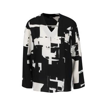 Bluza negru cu crem ONLY Max
