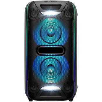 Sistem audio High Power Sony GTKXB72, Hi-Fi, Extra Bass, Bluetooth, NFC, Wireless Party Chain, Party Light, Microfon, USB (Negru)