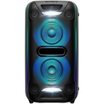 Sistem audio High Power Sony GTKXB72, Hi-Fi, Extra Bass, Bluetooth, NFC, Wireless Party Chain, Party Light, Microfon, USB (Negru)