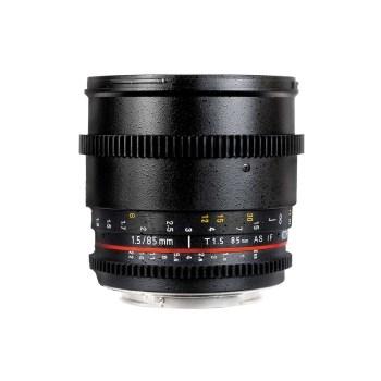 Samyang 85mm T1.5 Canon VDSLR - Cine Lens