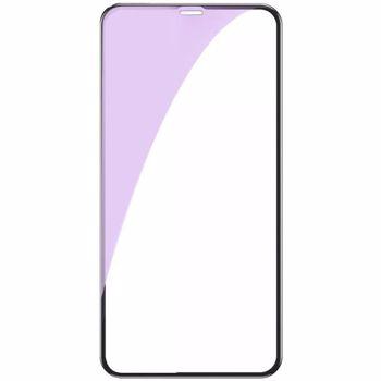 Folie iPhone 11 / XR Lemontti Sticla 3D Anti-BlueRay Black