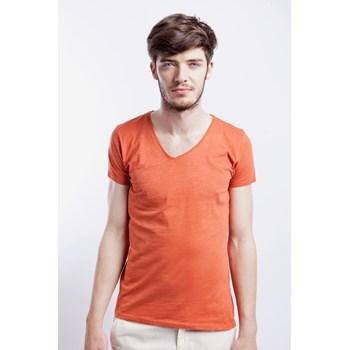 Tricou casual barbati Bona Vita portocaliu