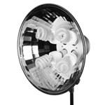 Fancier FANK-SFL 04 - lampa cu 4 becuri de 45W si softbox 50x70cm
