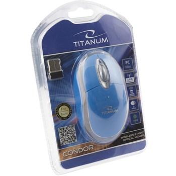 Mouse Wireless Esperanza Titanium TM120B Condor USB 1000dpi Blue tm120b - 5901299926109