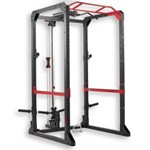 Aparat bodybuilding Rack 900 - Tracțiuni / Genuflexiuni/ Împins DOMYOS