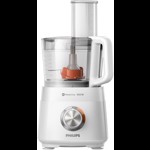 Robot de bucatarie Philips Daily Collection HR7520/00, 850 W, 2 viteze, 2.1 L, blender, presa de citrice, rasnita, Alb