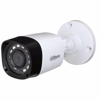 "Camera Supraveghere Video Dahua HAC-HFW1400RP-0280B, 4MP, HD-CVI, 1/3"" CMOS, 2.8mm, IR 20m, IP67 (Alb/Negru)"