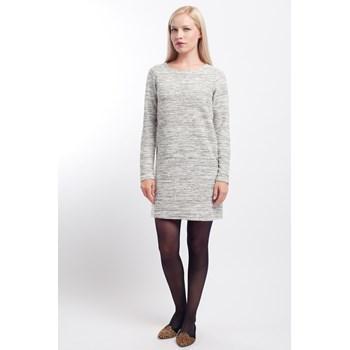 Rochie-pulover Vila alb-negru