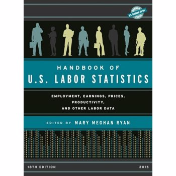 Handbook of U.S. Labor Statistics 2015. Employment, Earnings, Prices, Productivity, and Other Labor Data, Hardback