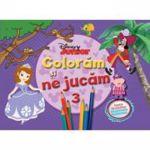 Coloram si ne jucam (vol. 3). Planse de colorat cu activitati distractive - Disney