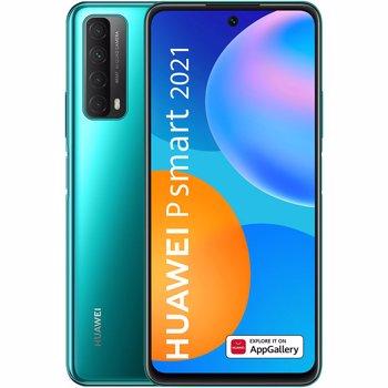 Telefon mobil Huawei P Smart (2021), 128GB, 4GB, Dual SIM, Crush Green
