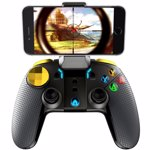 Gamepad Wireless iPega PG-9118 Golden Warrior Android iOS Windows Turbo suport telefon 5.5 inch Negru