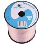 Cablu difuzor CCA 2x0.75mm transparent 100m