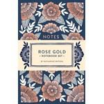 Rose Gold Notebook Set, Paperback