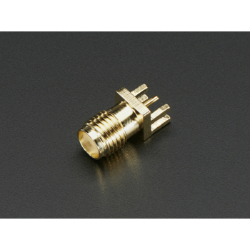 Edge-Launch SMA Conector 1.6mm 0.062 Thick PCB
