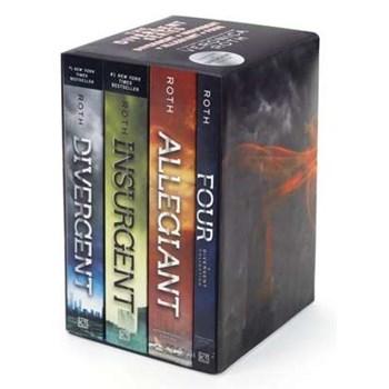 Divergent Series Ultimate Paperback Box Set: Divergent, Insurgent, Allegiant, Four (Divergent Series)