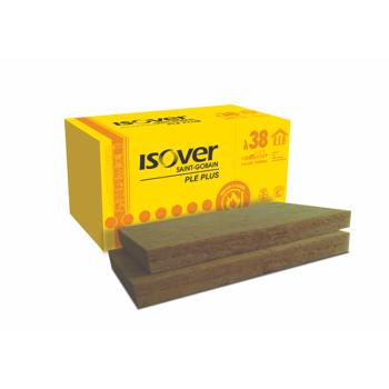 Vata minerala bazaltica Isover PLE 50 PLUS, necaserata, 1000 x 600 mm