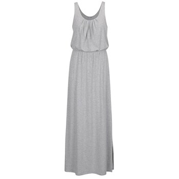 Rochie gri deschis ONLY Sally cu slit lateral