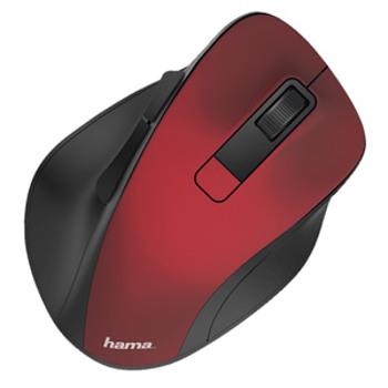 Mouse Wireless HAMA MW-500, 1600 dpi, rosu