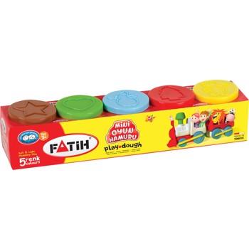 Plastlina usoara pentru modelaj, 5 culori Fatih