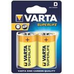 Varta zinc carbon batteries R20 (typ D) 2pcs superlife