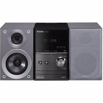 Micro Sistem Audio Panasonic SC-PM600EG-S, 40 W, Radio FM, CD, USB, Bluetooth (Argintiu)