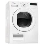 Uscator de rufe Whirlpool Supreme Dryer HDLX 70410, Pompa de caldura, 6th Sense, 7 kg, Clasa A++