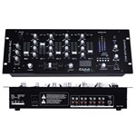 Consola DJ Ibiza MIXER 19 inch 4 CANALE CU USB + REC