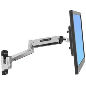 Suport monitor ERGOTRON LX Sit-Stand 45-353-026, tip brat pivotant, prindere in perete