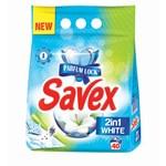Detergent pudra SAVEX Powerzyme 2in1 White, 4kg
