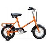 """Bicicleta Pegas Soim, Cadru 12"""", Roti 12"""" (Portocaliu)"""