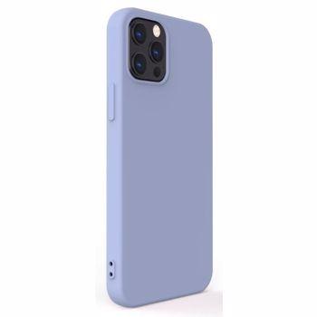 Protectie Spate Lemontti Soft Slim LEMSSXIIPLG pentru Apple iPhone 12, iPhone 12 Pro (Mov)