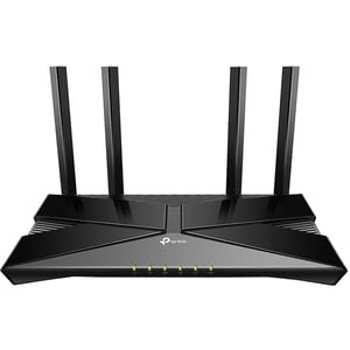 Router Wireless TP-LINK Archer AX20, Gigabit, Dual-Band, 1800 Mbps, 4 Antene externe (Negru)