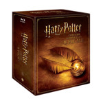 Pachet Seria completa Harry Potter, Bluray-Disc