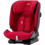 Scaun auto Britax ADVANSAFIX IV R  recomandat copiilor intre 9 luni - 12 ani  Fire Red
