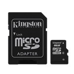 KINGSTON MICRO SD 8GB + adapter