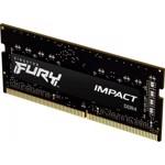 Memorie SO-DIMM Kingston Fury Impact, 8GB, DDR4-2666, CL15