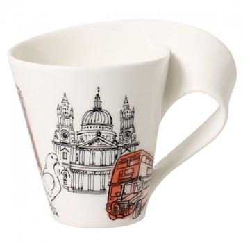Cana Villeroy & Boch NewWave Caffe City Mugs London