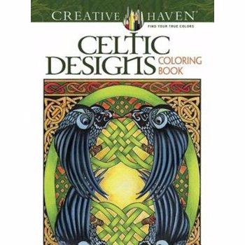 Creative Haven Celtic Designs Coloring Book, Paperback