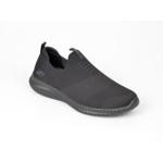 Pantofi sport SKECHERS negri, 52649, din material textil
