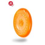 Jk Animals Jucarie Caine Frisbee Farfurie Zburatoare TPR Portocalie 23 cm