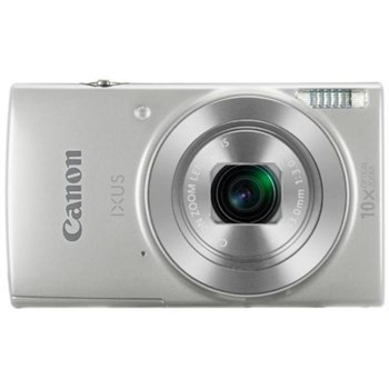 Aparat Foto Digital Canon IXUS 190, 20 MP, Filmare HD, Zoom optic 10x (Argintiu)