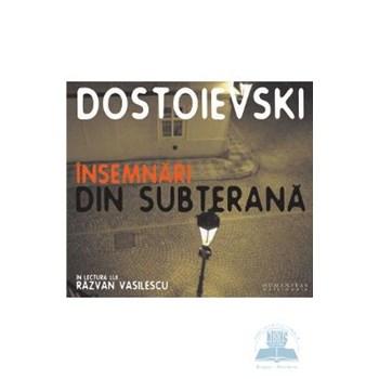 Audiobook CD Insemnari din subterana ed.2012 - F. M. Dostoievski 567274