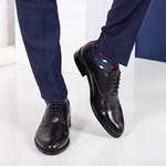 Pantofi barbati Piele Naugle negri eleganti