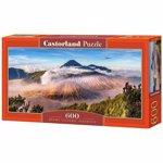 Puzzle panoramic Bromo Volcano Indonesia, 600 piese