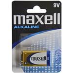 Baterie alcalina 9V 6LR61 Maxell