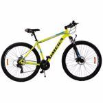 """Bicicleta Mountain Bike OMEGA Thomas, 27.5"""", galben"""