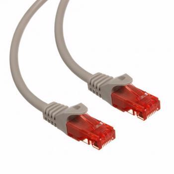 Cablu retea MACLEAN MCTV-302S Patchcord UTP Cat 6 2m Gri